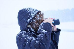 Des photos réussies en hiver.